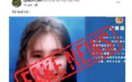 Chia sẻ tin giả nữ du học sinh Việt Nam lây nhiễm HIV, chủ Facebook bị phạt 5 triệu đồng