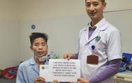 Nhờ các nhà hảo tâm, người đàn ông mắc u hàm mặt được phẫu thuật kịp thời, sức khỏe tiến triển tốt