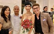 Sao Việt dự cưới Xuân Lan ở Mỹ