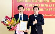 Bổ nhiệm Giám đốc Sở Thông tin và Truyền thông tỉnh Hà Tĩnh