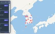 Người Hàn Quốc dựa vào bản đồ kỹ thuật số để theo dõi virus lây lan