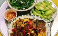 Mâm cơm người vợ ung thư nấu ăn hàng ngày cho chồng khiến chị em nể phục
