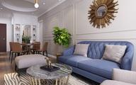 Mục sở thị căn hộ 30m2 mang phong cách tân cổ điển sang trọng