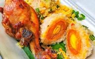 Xôi viên bọc trứng muối và 3 loại xôi ngon đổi vị cho bữa sáng