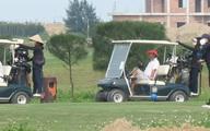 Chủ sân golf bị phạt 15 triệu đồng vì đón khách
