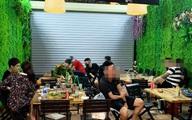 Nghệ An: Phạt quán nhậu mở cửa bất chấp lệnh cấm 7,5 triệu đồng