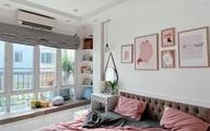 Vì chiều vợ, ông chồng tại Hà Nội tự tay cải tạo lại phòng ngủ 15m² với chi phí gần 20 triệu theo gam hồng nữ tính