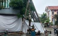Ngôi nhà nghiêng dọa đổ ở Hải Phòng được dựng thẳng lại như thế nào?