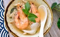 Chị em chuẩn bị món súp nấm bào ngư tôm tươi theo cách này đảm bảo ông xã mê tít