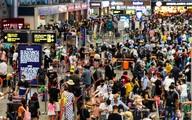 Nhiều chuyến bay ferry đến Đà Nẵng để đón khách rời khỏi thành phố trong đêm
