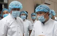 """Thứ trưởng Bộ Y tế Nguyễn Trường Sơn cùng """"Bộ chỉ huy tiền phương"""" lên đường vào Đà Nẵng"""
