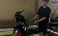 Trộm xe máy, nam sinh viên tạo bằng chứng ngoại phạm
