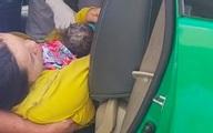 Tài xế taxi giúp sản phụ sinh con trên xe