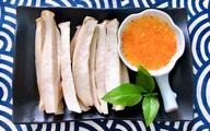 Nấm đùi gà hấp nước dừa