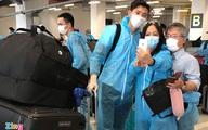 Văn Hậu đặt chân xuống sân bay Vân Đồn