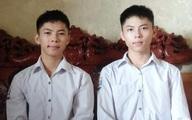 Anh em sinh đôi cùng đạt trên 27 điểm khối A