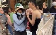 Công an điều tra vụ chồng chở bồ trên xe Lexus bị vợ đánh ghen trên phố Hà Nội