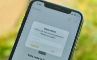 Làm gì khi quên mật khẩu bảo vệ ghi chú Apple Notes trên iPhone, iPad và Mac?