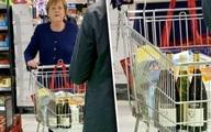 Thủ tướng Đức đi siêu thị