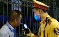 Hà Nội: Phạt 35 triệu đồng và giữ xe 7 ngày đối với tài xế sử dụng rượu, bia khi tham gia giao thông