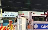Tông vào đuôi xe cảnh sát giao thông, một người đàn ông tử vong
