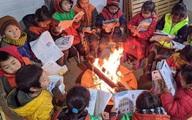 Hàng trăm trường học vùng biên cho học sinh nghỉ vì rét đậm, rét hại