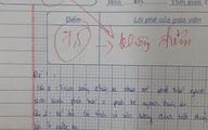 Giáo viên trừ thẳng tay từ 7,5 xuống 0 điểm, đọc lý do mà chỉ biết ngậm ngùi