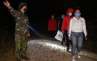 4 cô gái Việt bị bắt giữ khi vượt sông qua biên giới ở địa bàn TP Móng Cái