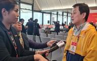 Phóng viên quốc tế tác nghiệp, đưa tin về Đại hội XIII của Đảng