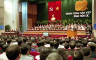 Đại hội lần thứ IX của Đảng: Phát huy sức mạnh toàn dân tộc, đẩy mạnh công nghiệp hóa, hiện đại hóa