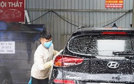 Dịch vụ rửa xe ở Hà Nội hốt bạc dịp Tết Nguyên đán, giá tăng cao gấp 4 lần