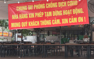 """Hà Nội: Nhà hàng, quán nhậu """"cửa đóng then cài"""" sát Tết vì lo ngại dịch COVID-19"""