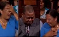 Lôi chồng đến tòa án thực tế để yêu cầu chu cấp tiền nuôi con gái, người phụ nữ khóc nức nở khi bị vạch mặt giữa đám đông