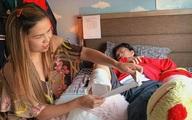 Sức khỏe của nhạc sĩ Lê Quang ra sao sau khi cắt chân phải
