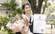 """Á hậu Phương Anh xứng danh """"con nhà người ta"""": Xinh đẹp và tốt nghiệp đại học thủ khoa"""