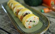Trứng cuộn làm kiểu này vừa ngon vừa đẹp, nhìn thôi đã mê