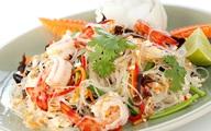 Cực dễ làm món salad miến tôm kiểu Thái