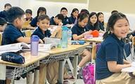 Con trai Thanh Thảo về Việt Nam học trường quốc tế