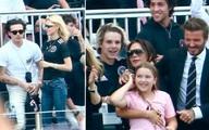 Vợ chồng David Beckham gặp gỡ thông gia tỷ phú