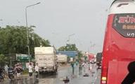 Hai vợ chồng từ Bình Thuận sang Đồng Nai làm thuê bị xe tải tông chết thương tâm