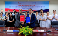Viện huyết học – Truyền máu Trung ương và Roche Việt Nam hợp tác nâng cao chất lượng chăm sóc và điều trị bệnh huyết học