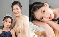 """Con gái 7 tuổi của người đẹp phim """"Đại gia chân đất"""": Chững chạc, hiểu  và biết cảm thông cho mẹ"""