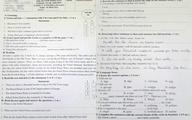 Đề thi lớp 6 có sẵn đáp án do lỗi của giáo viên