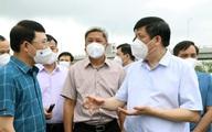 Tình hình Bắc Giang rất nóng, Bộ trưởng Bộ Y tế về làm việc, đề nghị Việt Yên phải phong toả