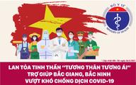 """Lan toả tinh thần """"tương thân tương ái"""" trợ giúp Bắc Giang, Bắc Ninh vượt khó chống dịch COVID-19"""