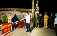 Vĩnh Phúc phong tỏa 1 thôn với 200 hộ dân vì có ca COVID-19 từng đến quán Sunny