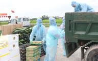 Hà Nam lập 27 điểm phát nhu yếu phẩm cho hơn 9.000 dân trong khu cách ly