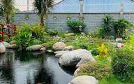 Khu vườn 720m2 đẹp như 'resort thu nhỏ' người chồng tặng vợ ở Đồng Nai