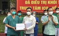 2 bệnh nhân COVID-19 nặng đầu tiên ở Bắc Giang khỏi bệnh