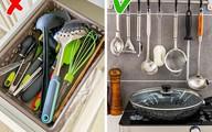 14 lời khuyên thiết thực giúp bạn loại bỏ sự lộn xộn khỏi nhà bếp một cách nhanh chóng
